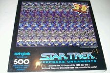Star Trek 500 Piece 3-D Puzzle 1994 SEALED MINT NEW Springbok Hallmark Keepsake