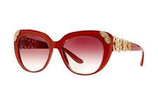 New Genuine Bvlgari BV8162B 53808H 55mm Womens Sunglasses Red / Pink Fast Ship