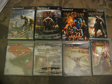 PS2 PS3 PSP God of War BLACK LABEL ORIGINAL 1 2 3 Origins Collection Ascension
