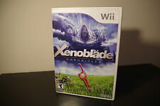 Xenoblade Chronicles (Nintendo Wii, 2012) *Tested / Complete