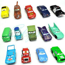Set 14Pcs Pixar Cars Lightning McQueen Mater Sally Luigi Cars Sheriff King Toy