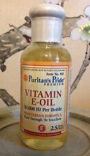 Puritans Pride Oral Vitamin E-Oil 30,000 IU 30000 IU ~ 2.5 Fl Oz ~ Skin Scars