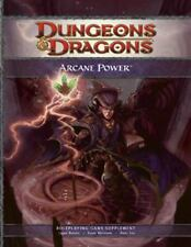 Dungeons & Dragons 4th Edition Arcane Power Bard Sorcerer Swordmage Wizard Locks