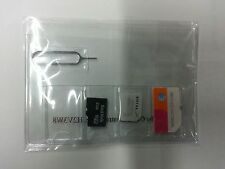Standard or Micro Sim or Micro SD Card Holder Case Storage with pin