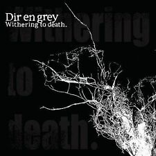 FREE US SH (int'l sh=$0-$3) USED,MINT CD Dir en grey: Withering to Death CD+DVD