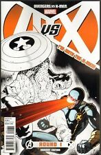 AVENGERS VS X-MEN #1 I'M WITH THE X-MEN TEAM VARIANT Cyclops Marvel 2012