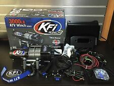 Polaris Rzr 900 15-16 KFI 3000 lb Winch + Mount COMBO W REMOTE+ROCKER