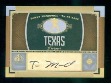 2012 Upper Deck SP Signature Edition Autograph Tommy Mendonca