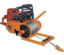 "WINCH - Chainsaw Mounted - 4000 Lb Cap - Includes 150 Ft of 3/16"" Cable - 60 FPM"