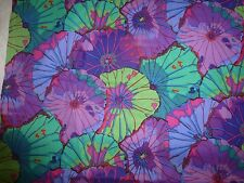 KAFFE FASSETT Fabric Fat Quarter Cotton Lotus Leaves