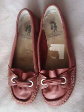 Hush Puppies UK 5 EU 38 Rosa Scuro in Pelle