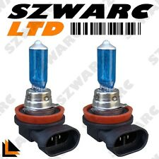 2X H8 708 35W SUPER BRIGHT WHITE XENON HEADLIGHT FRONT FOG DRL BULBS LAMP 12V UK