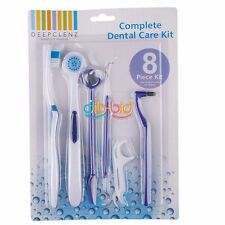 8 Pz Dental Care Oral dentista Kit stuzzicadenti Set Spazzolino