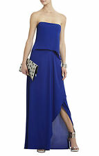 $298 BCBG Royal Blue Grace Strapless Homecoming Gown Dress 10 L Large 8 M Medium