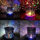 Romantic LED Stars Sky Starry Cosmos Night Light Projector Lamps Baby Kids Gifts