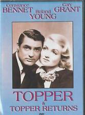 Topper , Topper Returns : Double Feature : Cary Grant DVD - Brand NEW