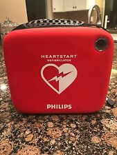 Philips HeartStart Defibrillator(AED)+Case, Pads &Battery