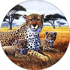 Cheetah # 1 Spare Tire Cover Wheel Cover Jeep RV Camper(all sizes available)