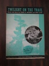 Twilight On The Trail 1936 Music from Trail of The Lonesome Pine Fred MacMurray