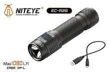 New Jetbeam Niteye EC-R26 Cree XP-L 1080 Lumens USB Charge LED Flashlight