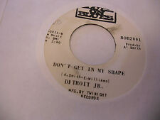 Detroit Jr Call My Job/Don't Get In My Shape 45 RPM Blues On Blues Records EX