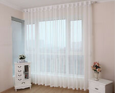 1Pcs Sheer White Window Treatment Curtain voile curtains Gauze Curtain 150*160cm