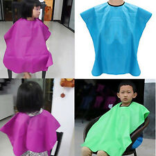 Child Salon Waterproof Hair Cut Hairdressing Barbers Cape Gown Wai Cloth Ornate