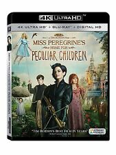 MISS PEREGRINE'S HOME FOR PECULIAR CHILDREN (4K ULTRA HD)- Blu Ray - Region free