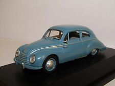 SCHUCO DKW 3=6 F91 BLUE 1/43 AUDI-AUTO UNION BOX