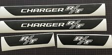 R/T Dodge Charger Vinyl Door Sill Decals 2006 2007 2008 2009 2010 Set