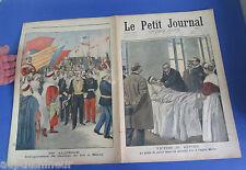 Le petit journal 1900 483 En Algérie inauguration de chemin de fer à Saïda