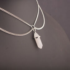 Wholesale Simple Crystal Chain Choker Statement Chunky Collar Pendant Necklace