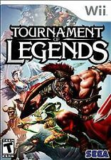 Tournament of Legends (Nintendo Wii) - COMPLETE