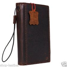 genuine retro leather Case for nokia lumia 945 xl book wallet hand made slim 950