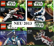 4xLEGO Star Wars 2013 Mandalor Z95 Frigate Umbarran Art. 30240 30241 30242 30243