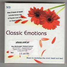 (GZ299) Various Artists, Classic Emotions - 2004 - 3 CDs