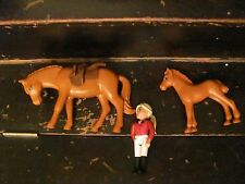 Lego Belville 2 Horses and rider NICE