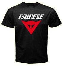 Dainese Racing Team Motorbike sport Logo Men Black T shirt size S/M/L/XL/2XL