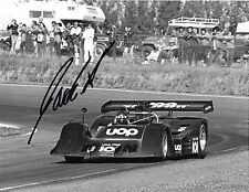 Jackie Oliver SIGNED Original Period , Shadow DN2, Can Am Series Mid Ohio 1973