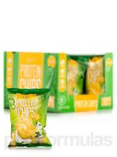 Quest Protein Chips Sour Cream & Onion - Box of 8 Bags (1 1/8 oz / 32 Grams Each