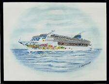 Original Art Work ...ms NORWEGIAN SKY ...cruise ship...NCL