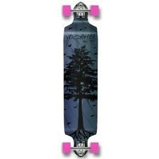 Yocaher Complete In The Pines Series Drop Down Longboard Blue
