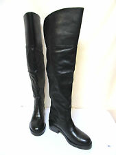 sz 8.5/39 WINDSOR SMITH leather sexy over-the-knee thigh-high Boots NWT! $350
