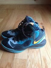 NIKE ZOOM HYPER FRANCHISE XD SPORT TURQUOISE - BRIGHT CITRUS 9.5 MEN