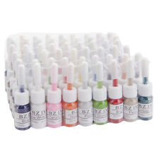 New 54 Color Tattoo Inks Set 0.2oz 5ML Pigment Kit for Body Art