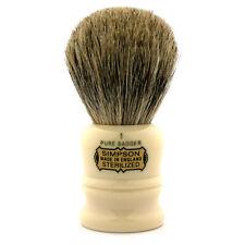 Simpsons Duke D1 Pure Badger Shaving Brush