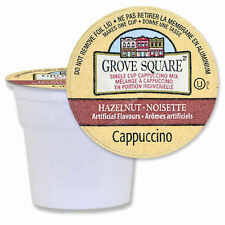 Grove Square Hazelnut Cappuccino K-Cup for Keurig Coffee Brewer - 72 cups