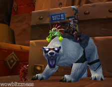BlizzCon 2008 POLAR BEAR MOUNT UNSCRATCHED WoW -LOOT POLARBEAR World of Warcraft
