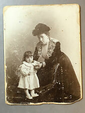 ANTIQUE RUSSIAN VINTAGE BABY GIRL CHILD POSTCARD REAL PHOTO