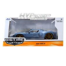 JADA 1:24 2005 FORD GT DIE-CAST BLUE 6766AB